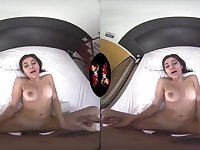 Virtual Reality - amateur wife