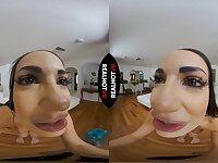 POV VR solo masturbation with Sofi