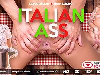 Juan Lucho  Silvia Dellai in Italian ass - VirtualRealPorn