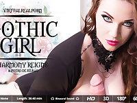 Harmony Reigns  Potro de Bilbao in Gothic Girl - VirtualRealPorn
