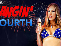 A Bangin Fourth - VR Porn starring Nicole Aniston - NaughtyAmericaVR