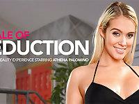 A Tale of Seduction featuring Athena Palomino - NaughtyAmericaVR