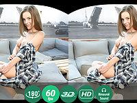 Lita Phoenix in Tv Addict Rubs Pussy - TMWVRNet