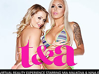 TA featuring Mia Malkova and Nina Elle