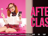 Adrian Dimas  Amarna Miller in After Class - VirtualRealPorn