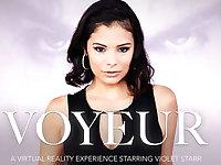 VOYEUR featuring Violet Starr - NaughtyAmericaVR