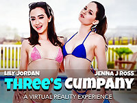 Threes Cumpany featuring Jenna J Ross and Lily Jordan